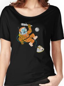 Space Yeti Women's Relaxed Fit T-Shirt