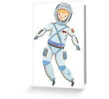 Astronaut Greeting Card