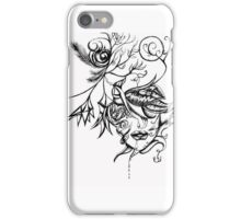 Lady of the leaves iPhone Case/Skin