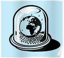 World Snow Globe (only) Poster