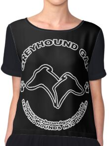 Helping Hounds into Homes Chiffon Top