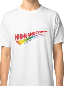 Highlandtown- Colorful Classic T-Shirt