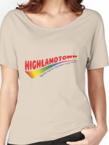Highlandtown- Colorful Women's Relaxed Fit T-Shirt