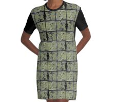 Circles and lines Graphic T-Shirt Dress