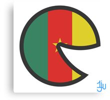 Cameroon Smile Canvas Print
