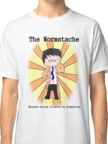 The Wormstache Classic T-Shirt