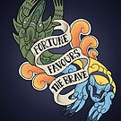 fortune favours the brave by Kate H