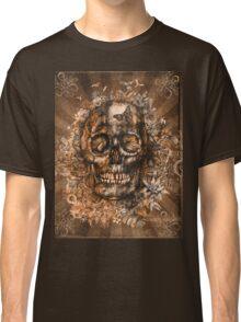 floral skull 3 Classic T-Shirt