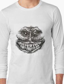 Creepy Face Long Sleeve T-Shirt