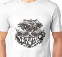 Creepy Face Unisex T-Shirt