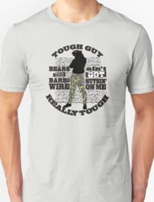 Tough guy macho man overkill bears barbed wire Unisex T-Shirt