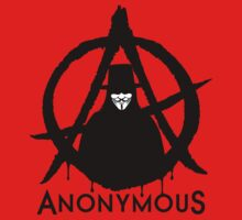 Anonymous Vendetta Kids Tee