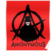 Anonymous Vendetta Poster