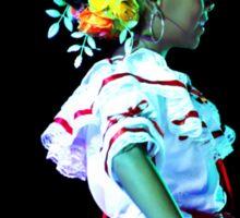 Beautiful Andalucian Dancer Sticker