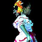 Beautiful Andalucian Dancer by Al Bourassa