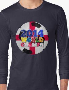 2014 World Champs Ball - England Long Sleeve T-Shirt
