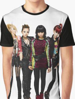 2NE1 CL DARA BOM MINZY KPOP Graphic T-Shirt