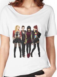 2NE1 CL DARA BOM MINZY KPOP Women's Relaxed Fit T-Shirt