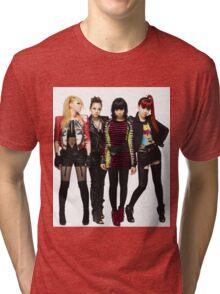 2NE1 CL DARA BOM MINZY KPOP Tri-blend T-Shirt