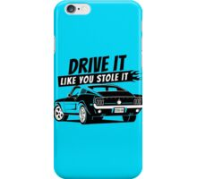 Drive it - fastback iPhone Case/Skin