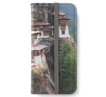 'Tiger Nest' Buddhist monastery iPhone Wallet/Case/Skin