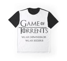 Game of Torrents Graphic T-Shirt