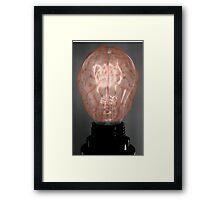 Brain Power Framed Print