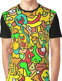"""BOINGO"" animal doodle colour cartoon Graphic T-Shirt"