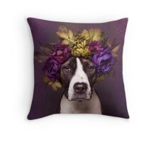 Flower Power, Susie Throw Pillow