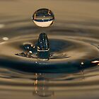 Bouncing waterdrop by Nicole W.
