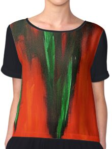 Born in the fire of life Chiffon Top
