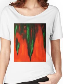 Born in the fire of life Women's Relaxed Fit T-Shirt