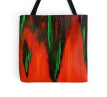 Born in the fire of life Tote Bag