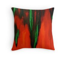 Born in the fire of life Throw Pillow