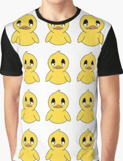 Delicate Ducky Army Graphic T-Shirt