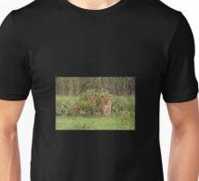 Two Masai Lion Cubs in the Rain Unisex T-Shirt