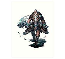 Old Nord - Guild Wars 2 Art Print