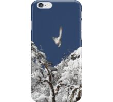 After a snowstorm on Jomolhari trek iPhone Case/Skin