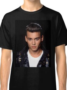 Young Johnny Depp Classic T-Shirt