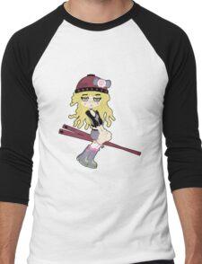 Ramen Chan by Lolita Tequila Men's Baseball ¾ T-Shirt