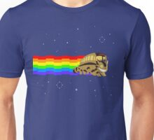 Nyan Cat Bus Unisex T-Shirt