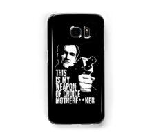 Quentin Tarantino - Weapon of Choice Samsung Galaxy Case/Skin