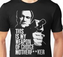 Quentin Tarantino - Weapon of Choice Unisex T-Shirt