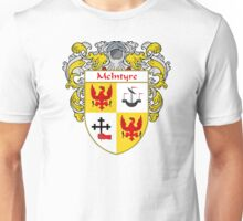 McIntyre Coat of Arms/Family Crest Unisex T-Shirt