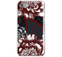Floral. Peony and paisley. iPhone Case/Skin