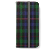 02706 Tennent from Strathaven Clan/Family Tartan iPhone Wallet/Case/Skin