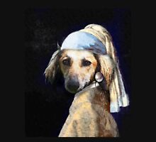 The Pooch with the Pearl Earring Unisex T-Shirt