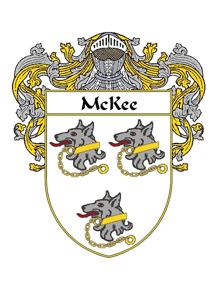 McKee Coat of Arms/Family Crest by William Martin