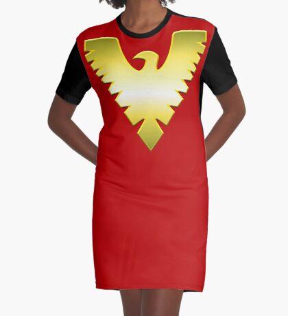 Phoenix Graphic T-Shirt Dress