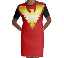 Phoenix Graphic T-Shirt Dress